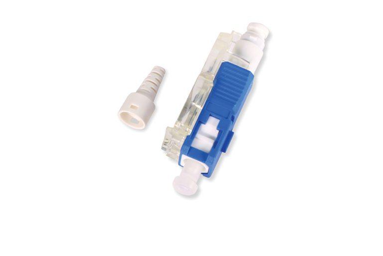 Conector de fibra óptica
