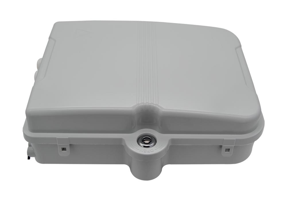 Caja fibra óptica FTTH